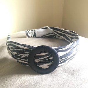🎉FREE w/ purchase🎉 Zebra Print Headband